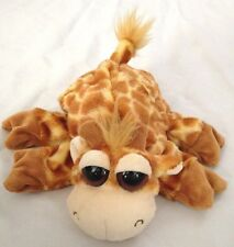 """Yellow Brown 9"""" Giraffe Caltoy Hand Puppet with Brown Eyes"""