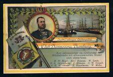 Hamburg, Club Hannovera 10-jähriges Bestehen, gelaufen 1901, TOP Erhaltung