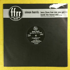 Simon Harris - Bass (How Low Can You Go) FFrr Records FFRX-4 Ex Condition A1/B1
