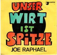 "<5106-36> 7"" Single: Joe Raphael - Unser Wirt ist Spitze - Vinyl: near mint"