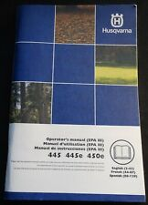 2009 Husqvarna Chain Saw 450 & 455 Rancher Operators Manual P/N 1151381-49 (223)