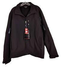 Mens Ski Jacket CB Sports Charcoal Black Performance Outerwear Size L