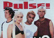 No Doubt 2002 Pulse Magazine Cover Promo Poster