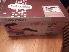 BabyCakes  Flip Over Cake Pop Maker Complete With Box PINK