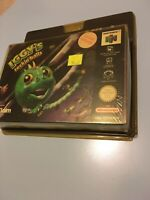 ❤️ Nintendo 64 N64 Neuf Blister Rigide Iggy's Reckin' Balls New Factory Sealed