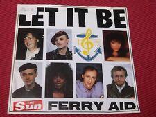 "Ferry Aid:  Let it be (Kate Bush)  7""  Mint Unplayed (sticker on slv)"
