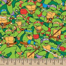 Ninja Turtle Fabric, Flannel Fabric, BTHY, Teenage Mutant Ninja Turtles