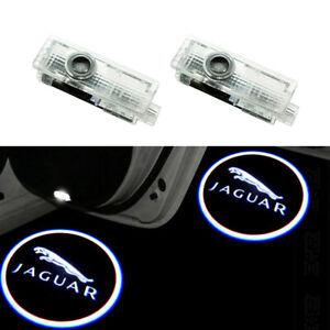 LED Door Welcome Goast Shadow Courtesy Laser Logo Lights For Jaguar XE F-Type