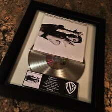 Prince PARADE Platinum Record Music Award Album Disc LP