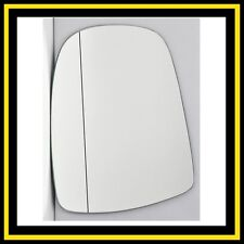 Left Passenger Side Wing Mirror Glass Wide Angle Renault Trafic 2001-2014