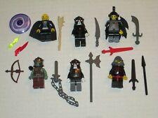 Lego Custom 6 Minifig Mix n Match Evil Wizard & Villians
