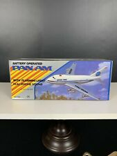 NIB Pan AM Toy Plane Battery Operated