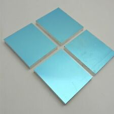 "New listing .75"" thick 3/4 Precision Cast Aluminum Plate 5.375""x 5.875"" Long Qty 4 sku176400"