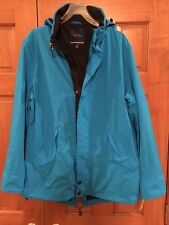 NWT NAUTICA MENS WATER RESISTANT JACKET TURQUOISE STARTURQ MERIDIAN SIZE LG $178