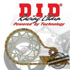 DID Kettensatz Stahl HONDA NX650 Dominator RD02 91-94 VX Kette gold