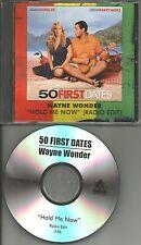 WAYNE WONDER Hold Me Now RADIO EDIT PROMO CD single Thomson Twins Remake cover