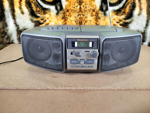 Panasonic RX - DS5 Portable CD Cassette AM FM Radio Stereo System Boombox Workin