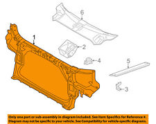 AUDI OEM 11-15 A8 Quattro-Radiator Core Support Bracket Panel 4H0805594E