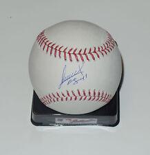 ALEXI OGANDO SIGNED AUTO'D MLB MAJOR LEAGUE BASEBALL RANGERS REDE SOX BRAVES KBO