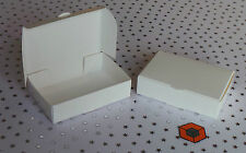 100 White BUDGET Party Single Slice CAKE favour Boxes inc Free 1st classPostage.