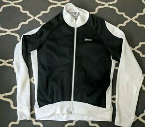 SMS Santini Black/white Cycling Jacket Jersey Women's Size XXL  Made in Italy