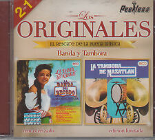 La Banda El Recodo De Manuel Rivera Y Tambora New Nuevo Sealed