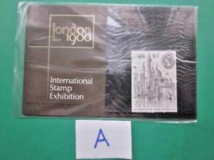 1980 THE LONDON 1980 INTERNATIONAL STAMP EXHIBITION PRESENTATION PACK.( A )