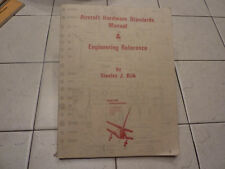 VINTAGE 1971 AIRCRAFT HARDWARE STANDARDS MANUAL & ENGINEERING REFERENCE