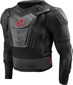 EVS Ballistic Jersey Comp Suit Md Black/Red CS20-BKR-M Medium 72-8619 663-2197M