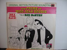 THE PRIME OF MISS JEAN BRODIE Rod McKuen US PROMO VINYL LP Free UK Post