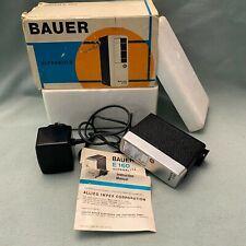 Bauer 160 Ultrablitz Electronic Flash Robert Bosch Elektronik Germany Box Manual