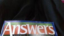 Answers Magazine: Building a Biblical Worldview 2006-2010 incl Vol 1 No 1 1st Ed