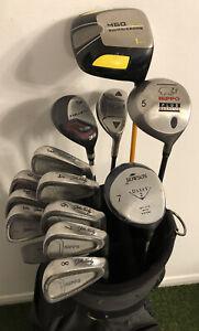 Hippo John Daly Full Golf Set 3-Sw Driver 5w, 7w, Hybrids Putter Bag Balls++