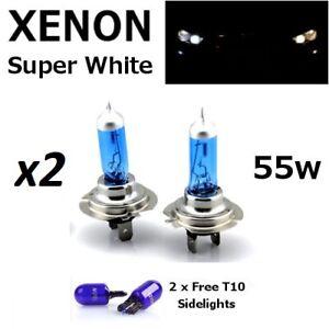 H7 T10 55w Super White Xenon HID Car Head Light Bulbs more x2 T10 Free