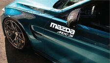 "Mazda MX-5 Decal Sticker miata rotary JDM engine racing Roadster 12"" Pair"