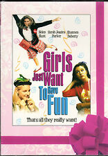 GIRLS JUST WANT TO HAVE FUN-S Jessica Parker,Helen Hunt scheme to get on TV show