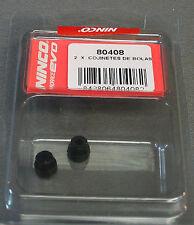 NINCO 1:32 SLOT CAR BALL BEARINGS race kart track axle bushing 2 PCS 80408 NEW