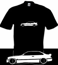 BMW e36 M3 3 series retro inspired car design clothing t shirt