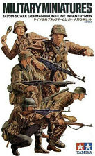 Plastic Toy Soldiers Model Kit 1/35 German Front-Line Infantry Tamiya 35196