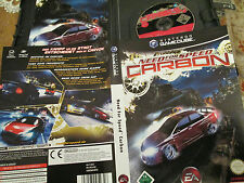 Need FOR SPEED CARBON in OVP + LIBRETTO GAME CUBE FSK 12