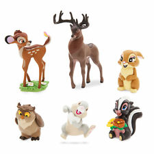 Disney Store Bambi &Forest Friends Cake Topper Decorating Figure Play Set NO BOX