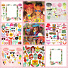 Photo Booth Props Frame Pineapple Flamingo Summer Beach Theme Photo Props Party