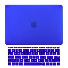 Royal Blue Matte Hard Case+Keyboard Skin for Macbook Pro 13 WITHOUT Touch Bar