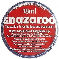 Snazaroo Face Paint Colours 18ml Bright Red 1118055