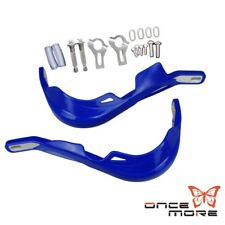 "Motorcycle Dirt Bike ATV 7/8"" Handlebar Brush Bar Hand Guard Handguard 22mm Blue"