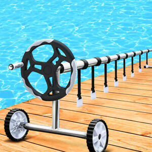 Swimming Pool Cover Roller Attachment Straps Kit Reels Nylon Strapping Fastener