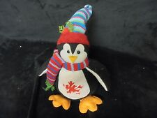 Adorable Christmas Penguin With Hat & Scarf  Battery Operated~~ Sand Bottom