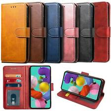 For Samsung Galaxy A71 Case Leather Wallet Protection HeavyDuty Book Cover Stand