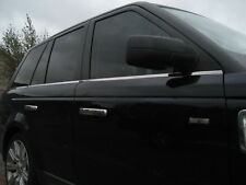 Polished Stainless Steel Chrome Window Rubber finisher Trim fr Range Rover Sport