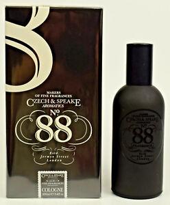 No. 88 by Czech & Speake  Fine Fragrance  100ml Eau De Cologne EDC Spray  NEW